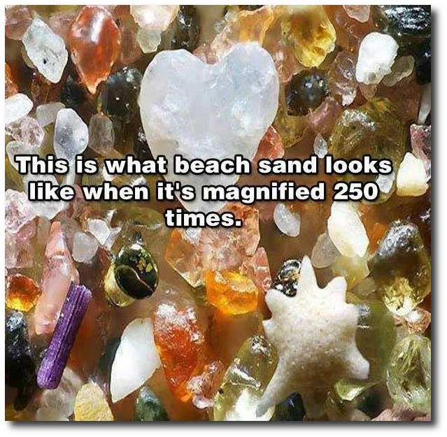 Sand Magnified - Yahweh's Awesome Creation