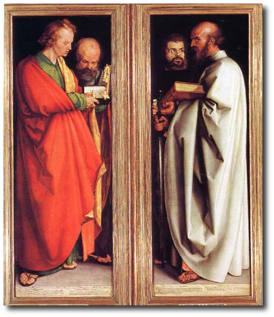 The Four Apostles by Albrecht Dürer