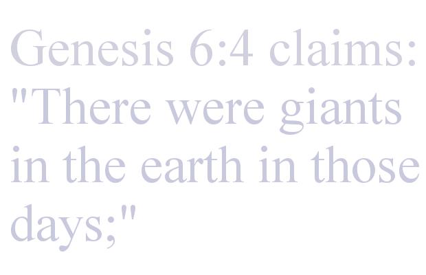 Genesis Giants