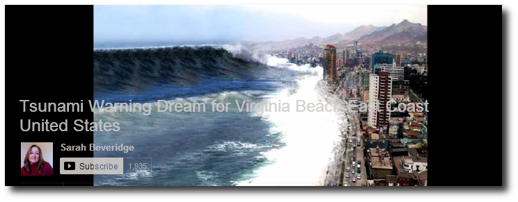 East Coast Tsunami Visions 6 Tsunami Warning Dream for Virginia Beach East Coast United States