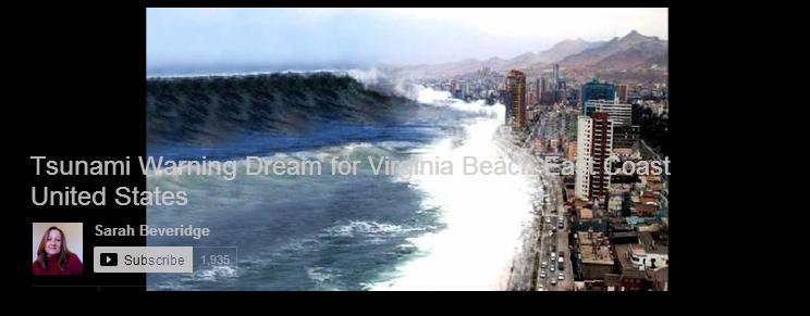 East Coast Tsunami Visions 6 Tsunami Warning Dream for Virginia Beach East Coast United States