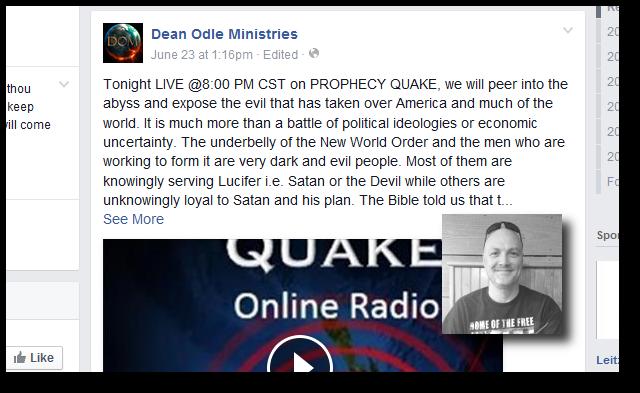 Dean On Facebook