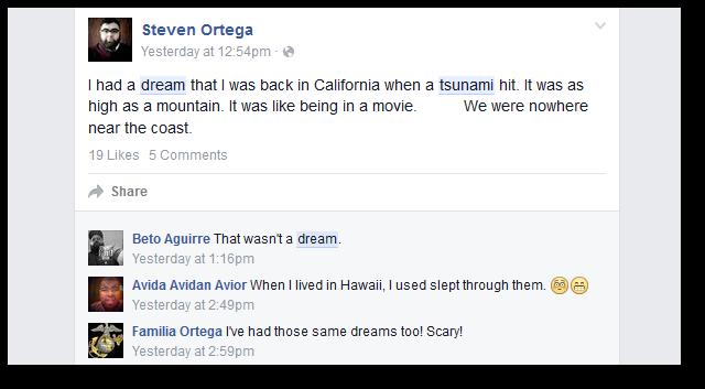 California Tsunami Dreams