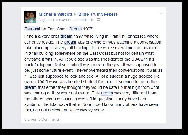 Tsunami Dreams