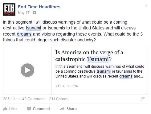 Tsunami Talk