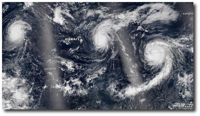 3 Rare Category 4 Storm