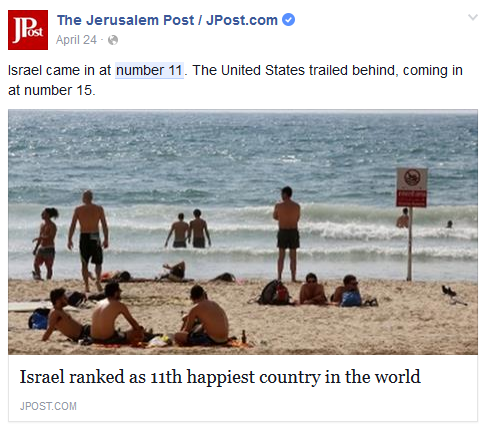 Number 11 And Israel