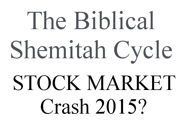 Stock Market Crash 2015