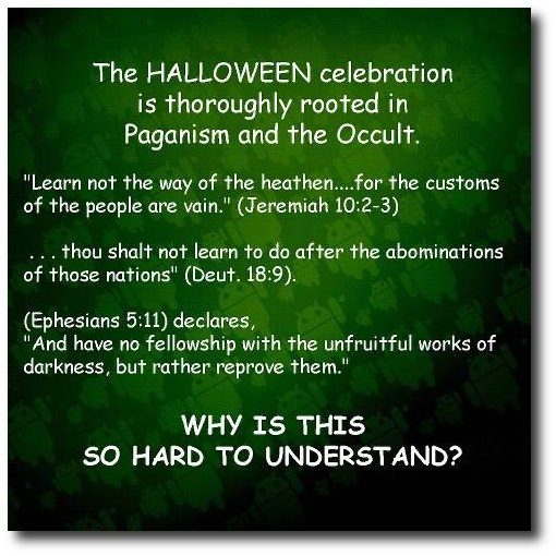 Halloween | Christians Awake 2 NWO