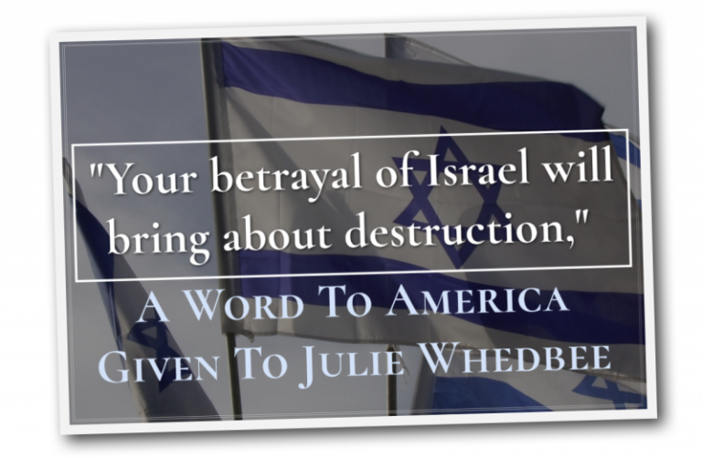 Julie Whedbee- Dividing The Land Of Israel Word