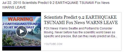 Tsunami Warning