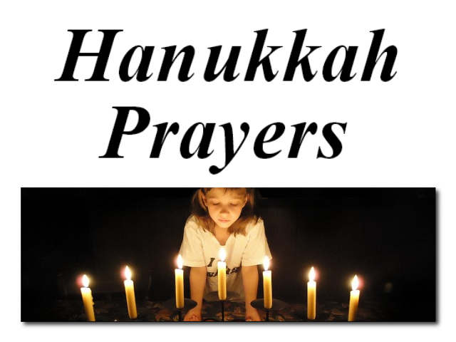 Hanukkah Prayers