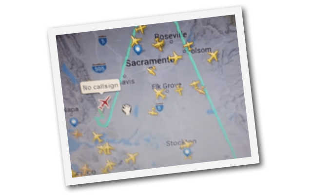 Why Is Nobody Investigating The Russian Air Force Plane Over California and Nevada