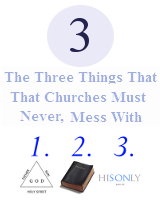 3 Things The Church Shouldn't Ever Mess With
