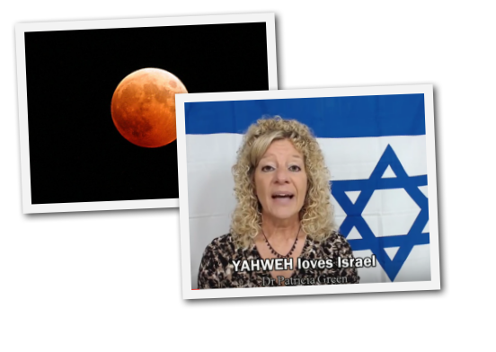 4 Words Given To Patricia Green From The Lord - 3 Blood Red Moons Seen Back To Back In Israel- Could This Mean Warnings Ahead