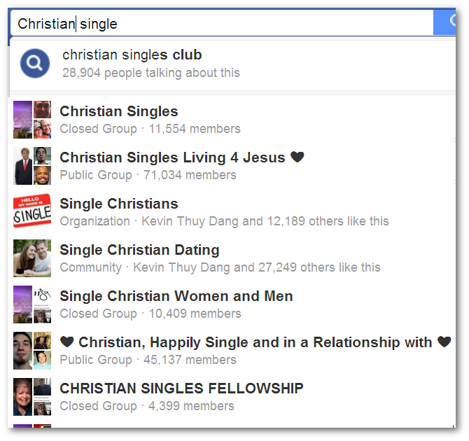 christian dating for free facebook