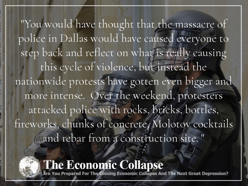 Riots Michael Snyder The Economic Collapse Blog