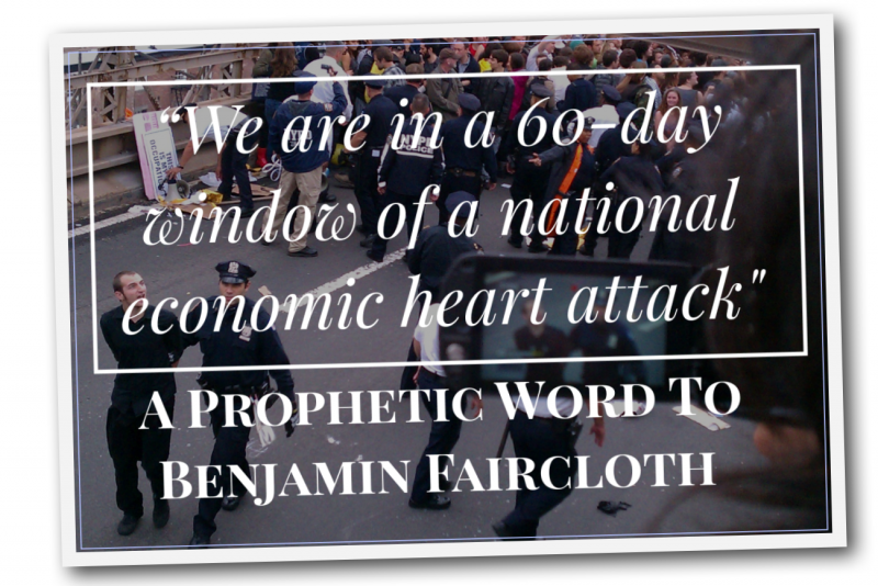Heart Attack Prophetic Word