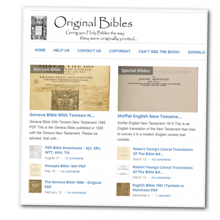 BIBLE PDF FORMAT EBOOK