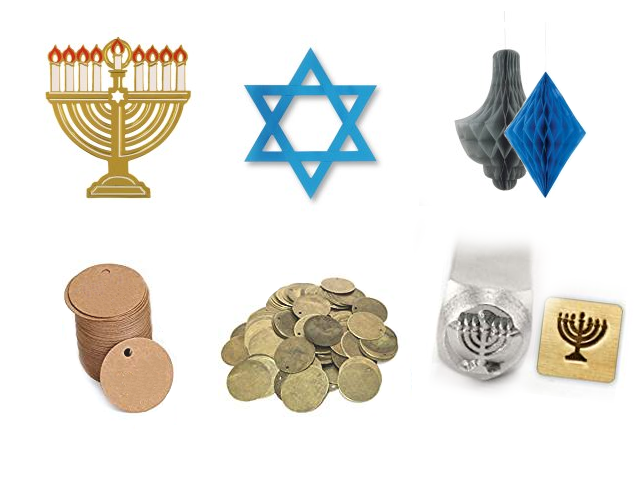 hanukkah-decorating