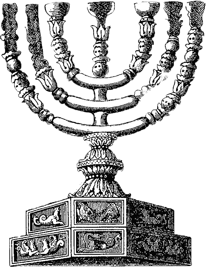 a-drawing-on-the-depiction-of-the-menorah-seen-on-the-arch-of-titus-in-rome-italy-credit-wikimedia-commons