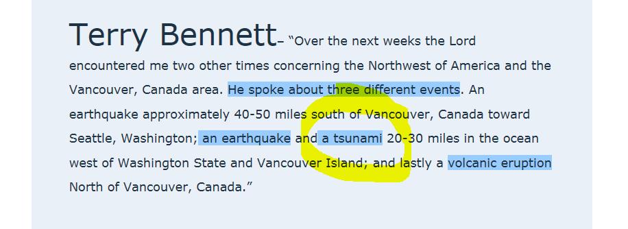 1000 Ft Tsunami Wave Hits West Coast Seen In Prophetic Dream