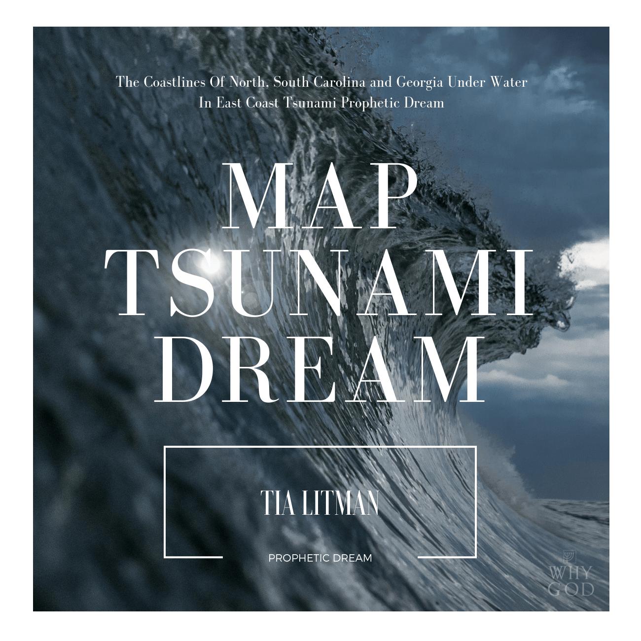MAP Dream! The Coastlines Of North, South Carolina and Georgia Under