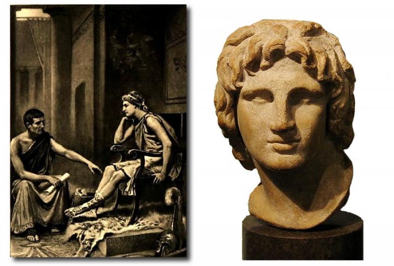 александр македонский и аристотель в картинках результате фиксирует